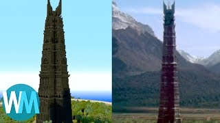 """Another Top 10 Minecraft Creations  // Subscribe: http://goo.gl/Q2kKrD // TIMESTAMPS BELOWBe sure to visit our Suggest Tool and Submit Ideas that you would like to see made into Top 10 videos! http://www.WatchMojo.com/SuggestMan, that must have taken a while...These are the most insane, the most impressive, the most intricately detailed and the most awe inspiring creations to be made out of cubes! Welcome to http://WatchMojo.com/ and today we're counting down our picks for the Another Top 10 Minecraft Creations. 00:43 #10. King Kong Vs. TRex 01:17 #9. Los Angelcraft 01:48 #8. Minecraft Middle Earth 02:31 #7. USS Enterprise NCC1701A 03:12 #6. Adventure Time Candy Kingdom 03:47 #5. Aurora City 04:19 #4. Titanic 04:53 #3, #2 & #1: ???Special thanks to user """"PlungedUncle"""" for suggesting this topic using our interactive suggestion tool at http://Watchmojo.com/suggest Our Magazine!! Learn the inner workings of WatchMojo and meet the voices behind the videos, articles by our specialists from gaming, film, tv, anime and more. VIEW INSTANTLY: http://goo.gl/SivjcXWatchMojo's Social Media Pageshttp://www.Facebook.com/WatchMojohttp://www.Twitter.com/WatchMojo http://instagram.com/watchmojo Get WatchMojo merchandise at shop.watchmojo.comWatchMojo's ten thousand videos on Top 10 lists, Origins, Biographies, Tips, How To's, Reviews, Commentary and more on Pop Culture, Celebrity, Movies, Music, TV, Film, Video Games, Politics, News, Comics, Superheroes. Your trusted authority on ranking Pop Culture."""