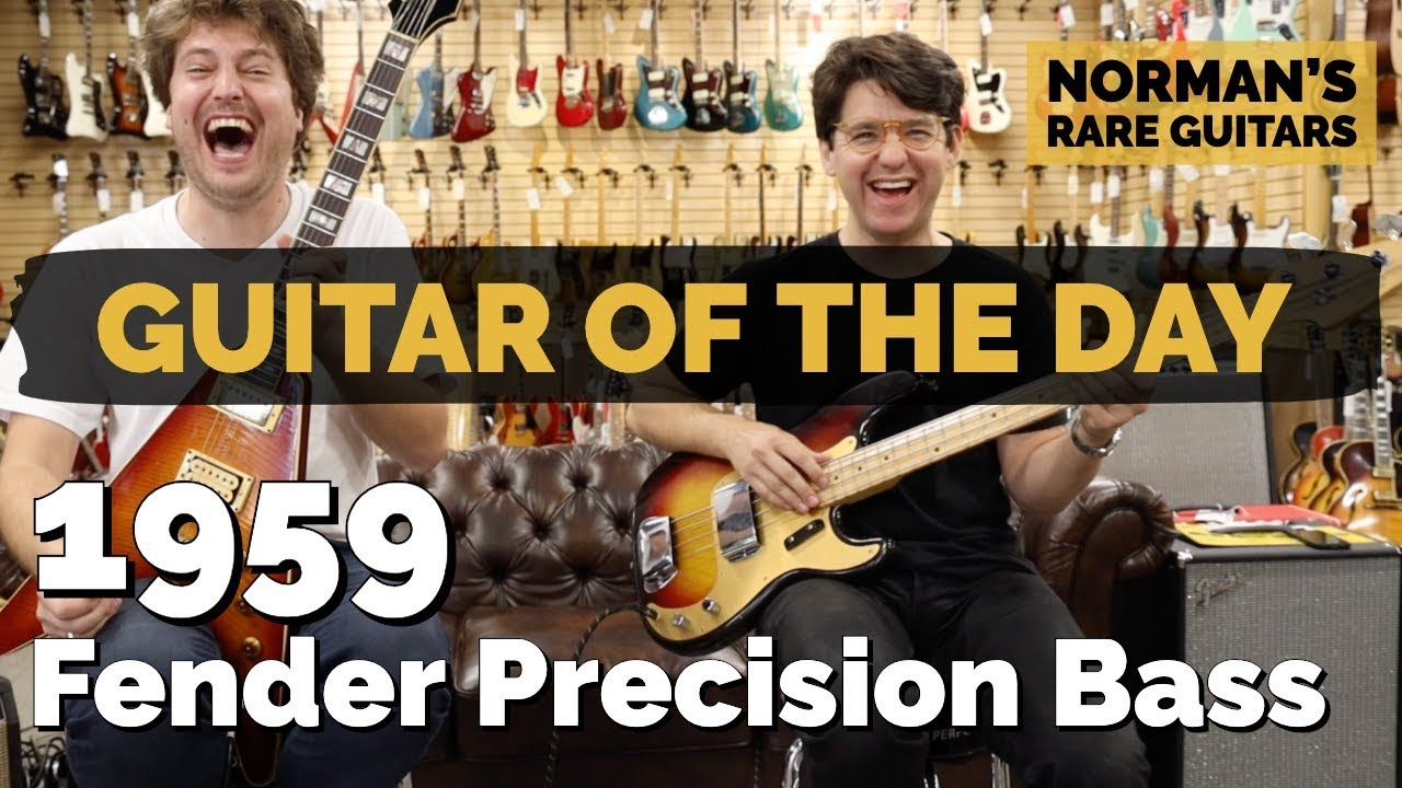 Guitar of the Day: 1959 Fender Precision Bass | Norman's Rare Guitars