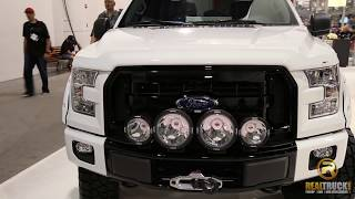 2015 Ford F150 Stampede Window Deflectors and Hood Deflector
