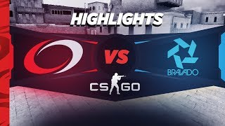 CS:GO Highlights - compLexity vs Bravado - ECS S5 North American Challenger Cup