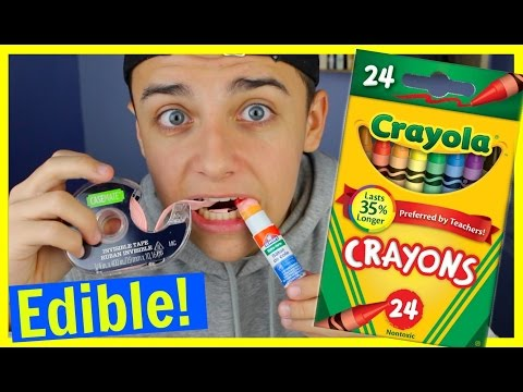 DIY Edible school supplies! (видео)