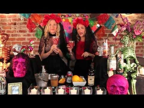 Dia de los Muertos Vampiro Cocktail!