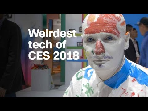 The most bizarre things we saw at CES 2018 (видео)