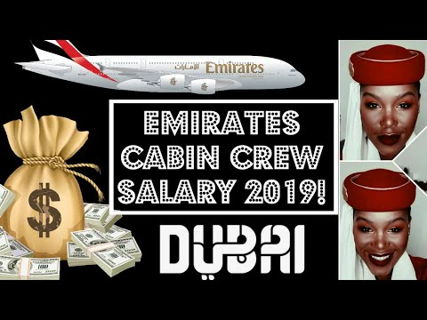 Emirates Cabin crew salary