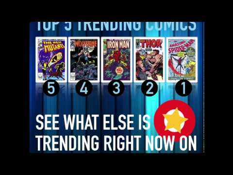 Top 5 Trending Comics on Zap-Kapow: February 6, 2017