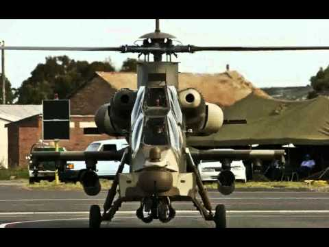 Denel AH-2 Rooivalk (Kestrel) Attack...