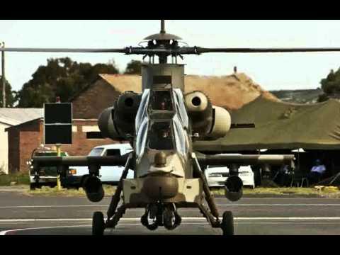 Denel AH-2 Rooivalk (Kestrel) Attack...