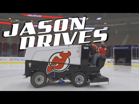 What It's Like To Drive A Zamboni | Jason Drives