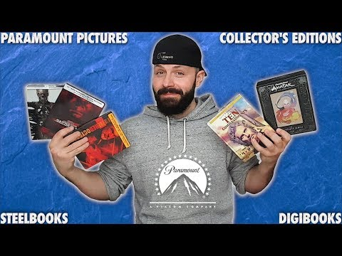 *NEW* Paramount Pictures - BLURAY & 4K Collector's Editions - Steelbooks & Digibooks | BLURAY DAN