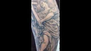 Video Angel roses and demons Tattoo MP3, 3GP, MP4, WEBM, AVI, FLV Juni 2018