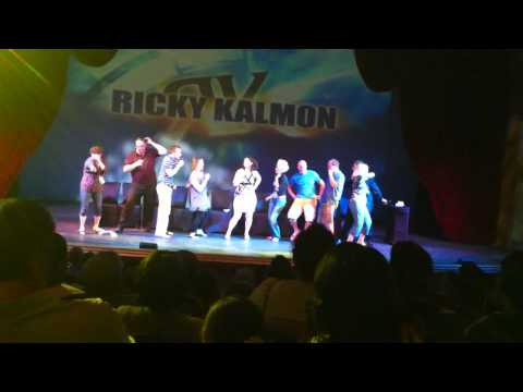 Disney Wonder Cruise Jan 29 2012 Hypnotist show - Ricky Kalmon