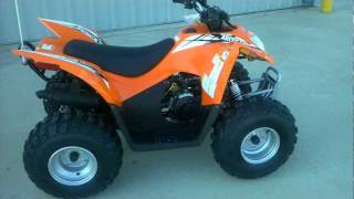 9. 2013 Arctic Cat DVX 90 Youth ATV with reverse and electric start.