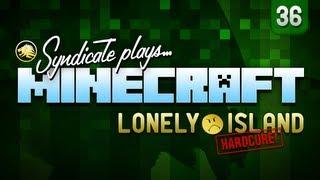 Minecraft: Storage Facility Creation - Lonely Island (Hardcore) - Part 36