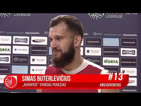 S.Buterlevičius: jei komanda pasieks užsibrėžtus tikslus, man bus nusispjaut į asmeninę statistiką