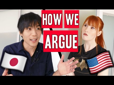 What we argue about | Japanese/American marriage (видео)
