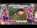 NANA REVAMP + Build MM! Effect Skill n Ulty BARU! Bukan 8bit Lagi hahaha  | Mobile Legends