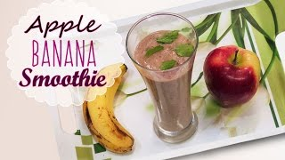 Sarapan Sehat dan nikmat: Banana Apple Smoothie