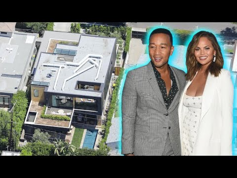John Legend And Chrissy Teigen's Record Breaking West Hollywood Home