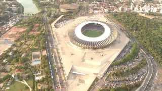 VÍDEO: Museu Brasileiro do Futebol do Mineirão amplia estrutura e apresenta novidades