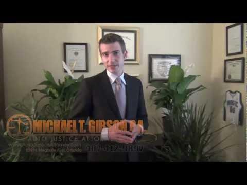 Orlando Florida Personal Injury Attorney Michael T. Gibson