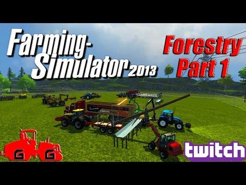 Farming Simulator 2013 - Forestry Part 1!