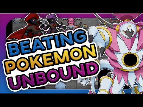 I Beat Pokemon Unbound And It Was Amazing! (no items)