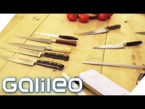 DAS macht ein gutes Messer aus | Galileo | ProSieben