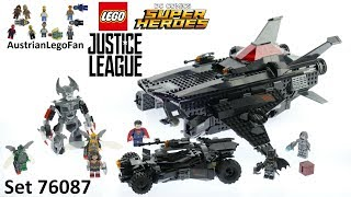 Nonton Lego Super Heroes 76087 Flying Fox: Batmobile Airlift Attack - Lego Speed Build Review Film Subtitle Indonesia Streaming Movie Download
