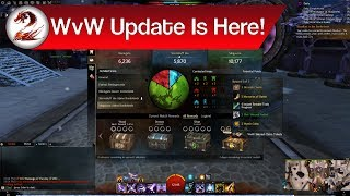 GSmaniamsmart talks about the Guild Wars 2 world vs world overhaul now live in today's patch!►Subscribe for more awesome gaming videos: http://goo.gl/KvoSKmThe new world vs world update is finally live in-game! Along with it, the legendary backpack, the new mistforged triumphant hero's armor, the new reward track system in WvW, and some info on the upcoming PvP changes coming next week. Let's chat about this awesome GW2 world vs world overhaul and enjoy the patch day summary! Timestamps are below for your convenience.Timestamps:Lake Doric Farming: 0:00 – 2:40WvW Updates: 2:40 – 14:53PvP Updates: 14:53 – 20:29General + Gem Store Updates: 20:29 – 26:26Support me and my channels through Patreon below:https://goo.gl/pPKNGBSee the WvW article from MMORPG mentioned below:http://www.mmorpg.com/guild-wars-2/columns/all-aboard-the-wvw-hype-train-1000011783Check out my other channels below:GSmaniamsmart: https://goo.gl/blsw51Advice with GS: https://goo.gl/C5X1uXMusic with GS: https://goo.gl/F2amr0Tutorials with GS: https://goo.gl/3Y3CuoFollow me on social media below:Patreon: https://goo.gl/pPKNGBFacebook: https://goo.gl/VtRnweGoogle Plus: https://goo.gl/k8AJX6Twitter: https://goo.gl/RejPxv