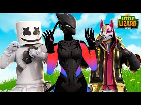 MARSHMELLO & DRIFT FIGHT OVER LYNX!!! - Fortnite Short Films