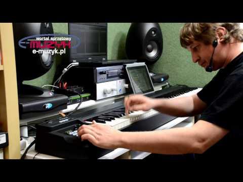 Roland A-88 masterkeyboard z doważoną klawiaturą młoteczkową z wymykiem (podwójną repetycją) (видео)