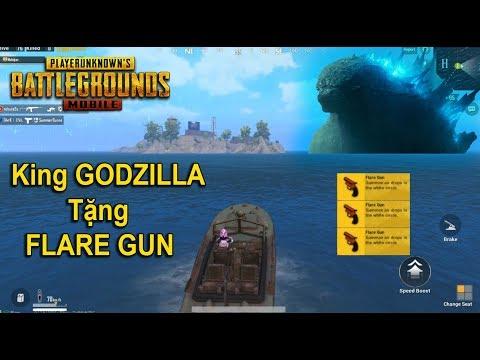 [PUBG Mobile] Tìm Thấy Quái Vật Godzilla Ở Đảo Hồi Sinh Được Tặng Flare Gun - Thời lượng: 21:13.