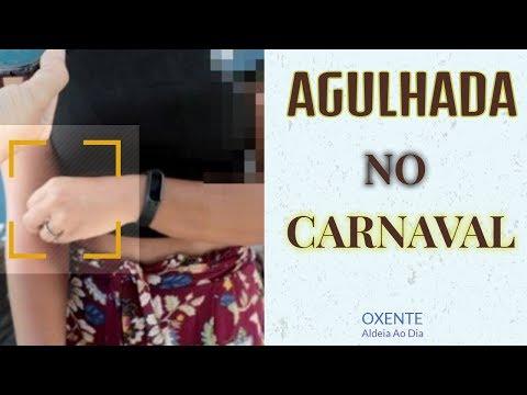 Vítima de agulhada durante carnaval de Olinda