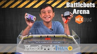 BattleBots Arena by Hexbug Unboxing