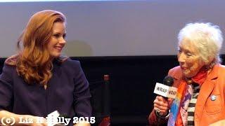 Amy Adams and Margaret Keane tell Big Eyes Movie Story