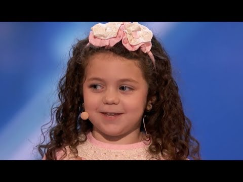 Cute Little Girl AMAZES EVERYONE :) America's Got Talent 2018