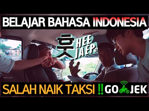 Salah Naik Taksi Online GO-JEK !! 택시를 잘 못 타다 [SURABAYA, INDONESIA] With A7s, Mavic