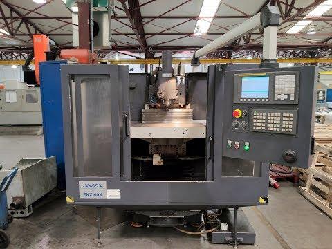 CNC Milling Machine Avia FNX 40N 2013