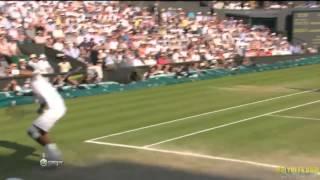 Tennis Highlights, Video - Novak Djokovic vs. H.M. Del Potro 3:2  (Wimbledon 2013 - Semi-final) *LAST GEM*