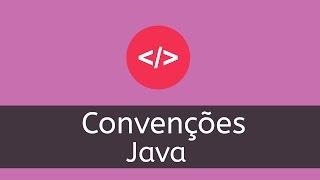 Aprenda as convenções de código Java para iniciantes.Artigo DevMedia: http://www.devmedia.com.br/convencoes-de-codigo-java/23871Oracle: http://www.oracle.com/technetwork/java/codeconvtoc-136057.html