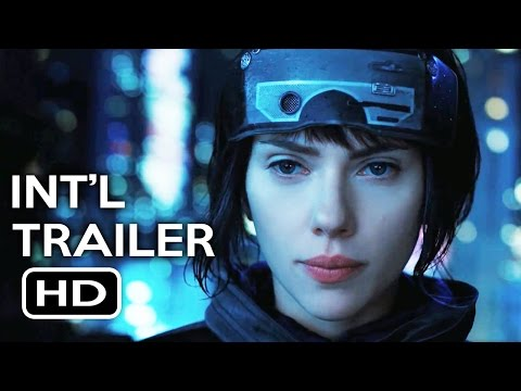 Ghost in the Shell Official International Trailer #1 (2017) Scarlett Johansson Action Movie HD