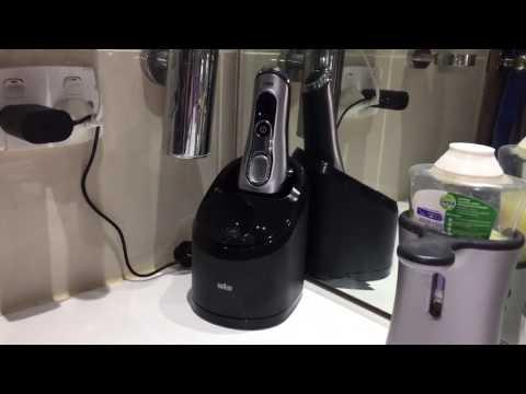 Braun Series 9 9290cc - Cleaning Demo