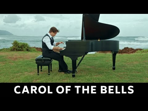 CAROL OF THE BELLS - AMAZING PIANO SOLO BY DAVID HICKEN (sheet music for piano)