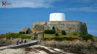 St. Peter Port, Vazon, Roquaine, L'Ancresse, Pembroke, L'Eree, Fort Grey.