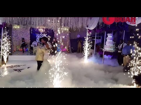 OMG! Oritsefemi &His Wife Danced Beautifully & Kissed For Over 1 Minute At Their Colourful Wedding