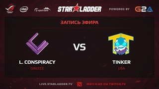 London vs TTinker, game 1