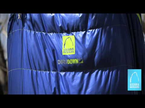 Sierra Designs: Updated DriDown Sleeping Bags