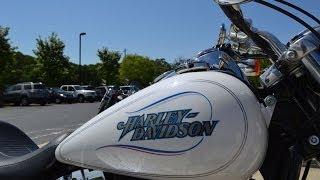 3. SOLD!  2004 Harley-Davidson® FXDL - Dyna Glide Low Rider® Glacier White 313161