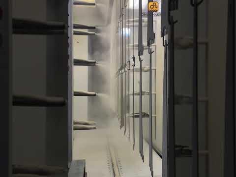 Emporium Shelf Electrostatic Painting