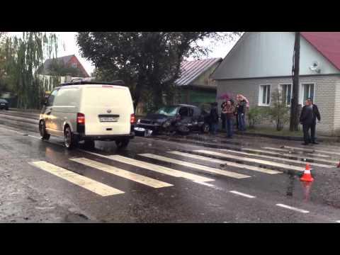 Авария на Первомайской в Карачеве